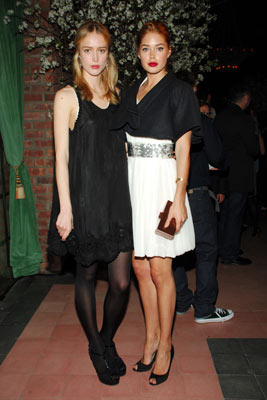 With Raquel Zimmerman at the Gap Editions Party
