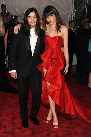 Lou Doillon in Nina Ricci (this girl is just so classic French! tres chic!)