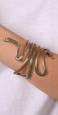 snake bracelet a la Cleopatra