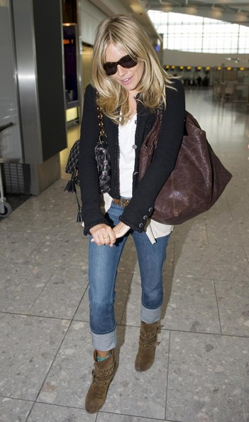 Another one of Sienna Miller at Heathrow
