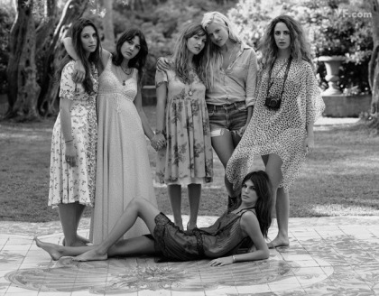 young heiresses/heirs that were featured in Vanity Fair a few months ago...