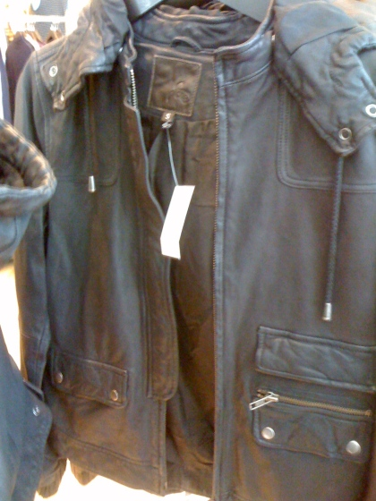 Joie leather jacket