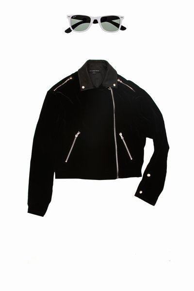 Velvet Motorcycle jacket Alexander Wang