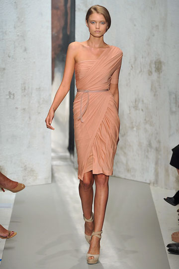 Walking for Donna Karan