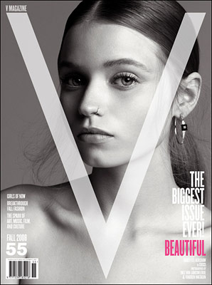 On the Cover of V magazine