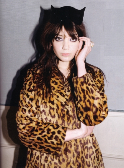 This picture of Daisy Lowe (from Fashion Squad)