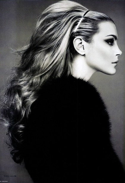 This picture of Jessica Stam! Stunning!
