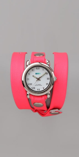 La Mer Collections Neon Square Wrap Watch-$90 (shopbop.com)