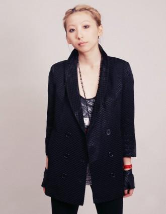 Fun textured blazer (pixiemarket.com)