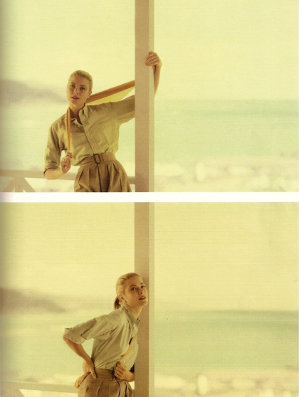 Grace Kelly (as unoriginal as that sounds...these shots are amazing) She's so beautiful in the movie Rear Window!