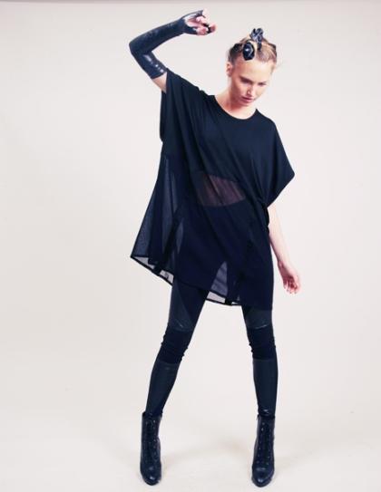 see through black dress (pixiemarket)
