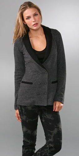 Madewell two toned blazer